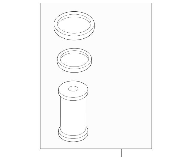 ac fuel filter element 24617