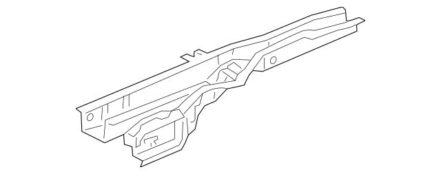 2003-2011 Honda ELEMENT 5-DOOR Frame A, Left Rear Floor