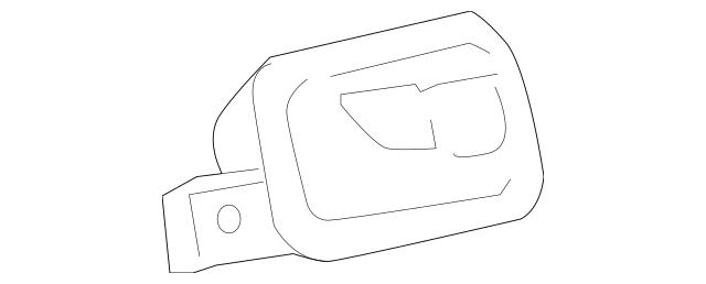 2005-2010 Chevrolet Cobalt Handle, Inside 22722747