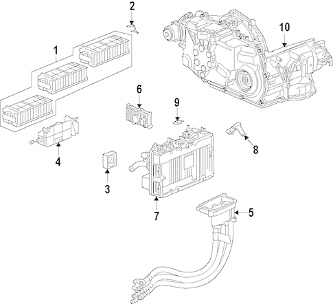 OEM 2009 Chevrolet Malibu Cooling System Parts