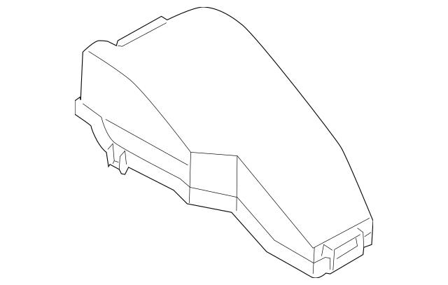 2009-2010 Nissan Murano Fuse Box Cover 24382-1AA0A