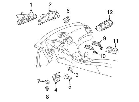 Instruments & Gauges for 2004 Mercedes-Benz SL 55 AMG