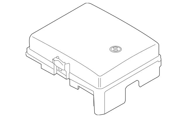 2016 Hyundai Genesis Fuse Box Cover 91950-B1171