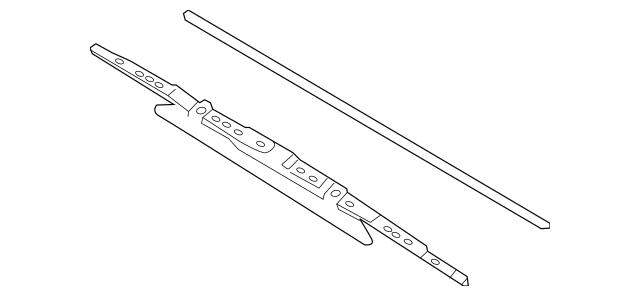 2011-2019 Nissan Versa Windshield Wiper Blade 28890-EL000