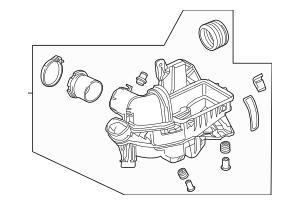 2015-2017 Honda FIT 5-DOOR Case Set, Air Cleaner 17201-5R7