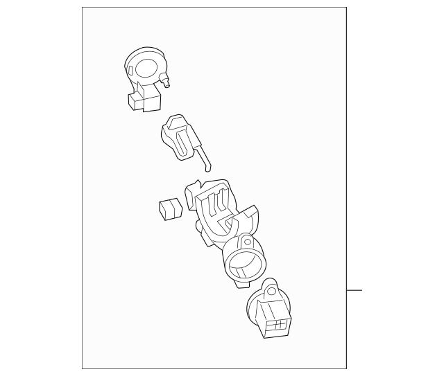 Mazda Ignition Lock Cylinder (FEY5-76-29XC) For Sale