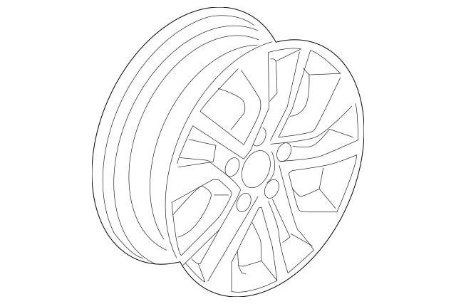 Disk Aluminum Wheel 16x6 1 2j Tpms Dicastal