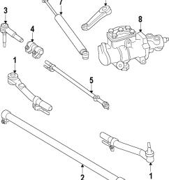 genuine ford center link ac3z 3304 b [ 1000 x 1202 Pixel ]