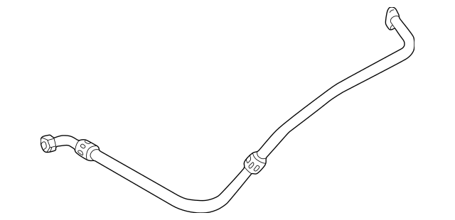 1998-1999 Mercedes-Benz E 300 Oil Hose 606-180-31-30