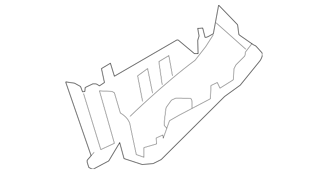 2008-2015 Scion xB Fuse & Relay Box Lower Cover 82663