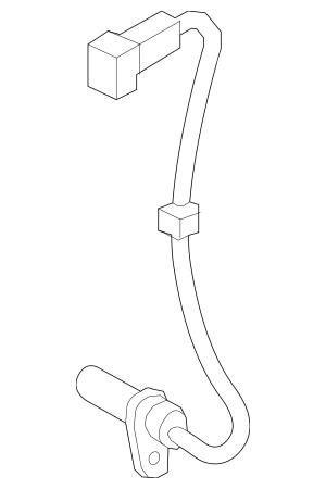 2010-2014 Hyundai Genesis Coupe Crankshaft Position Sensor