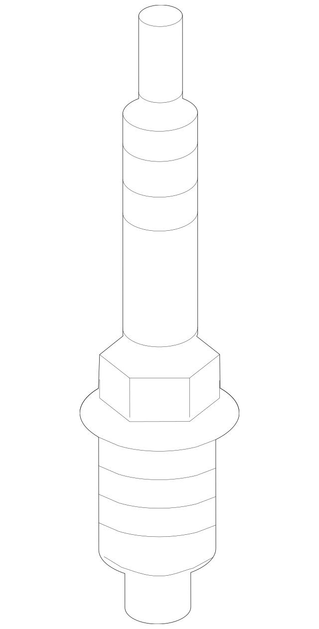 2013-2014 Hyundai Genesis Coupe Spark Plug 18845-08201