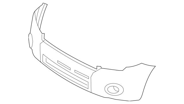 Bumper Cover for 2011 Ford Escape 8L8Z-17D957-CPTM