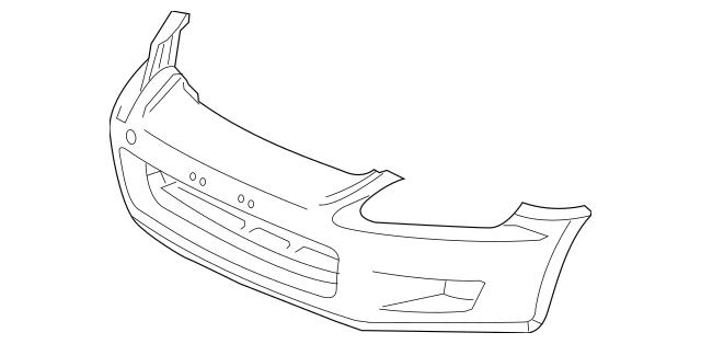 2000-2003 Honda S2000 COUPE FACE, FRONT BUMPER [DOT(Dept