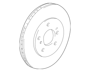 1997-2005 Acura NSX COUPE Disk, Front Brake 45251-SL0-J00