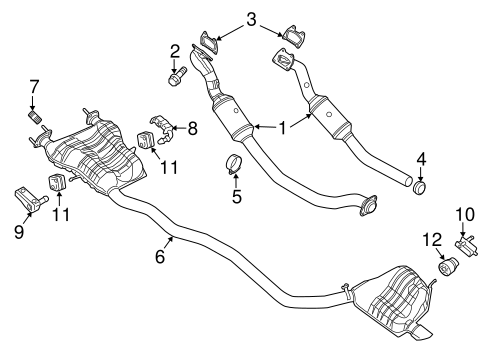 Exhaust Manifold for 2014 Jeep Grand Cherokee Parts