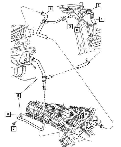 2007 Dodge Charger 2.7 Engine Diagram : 2006 Chrysler 300c