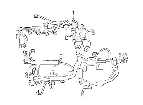 File: Toyotum Avalon Engine Wiring Harnes