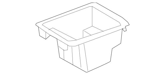 2009-2014 Hyundai Genesis Compartment Box 84691-3M100