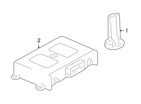 Electrical Components for 2010 Mercedes-Benz E550