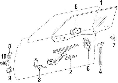 DOOR for 1984 Toyota Celica