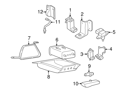 fuel system components for 2004 hyundai