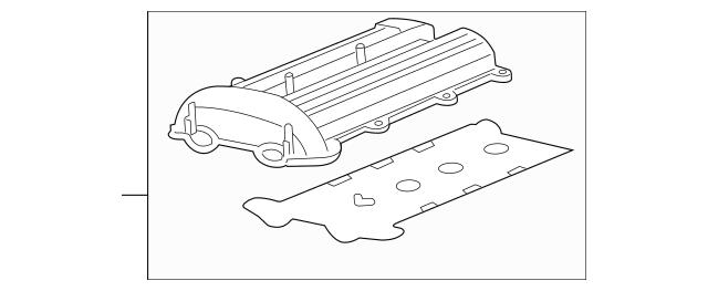 Valve Cover for 2012 Chevrolet Cruze 55564395 : GM Parts