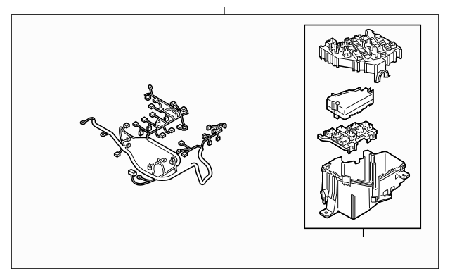 2006-2015 Mazda MX-5 Miata Wire Harness NH19-67-010B