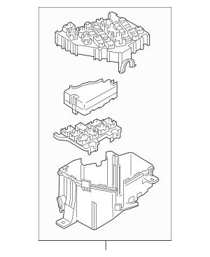 2006-2015 Mazda MX-5 Miata Fuse & Relay Box NE51-66-760B