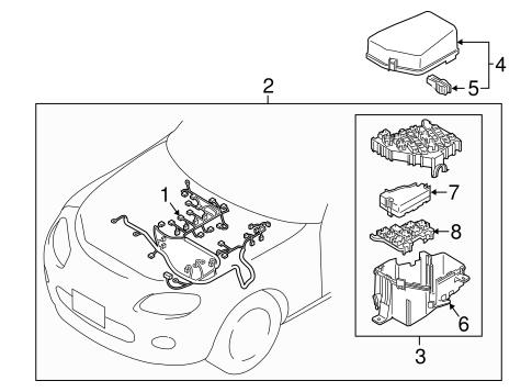 Electrical Components for 2008 Mazda MX-5 Miata