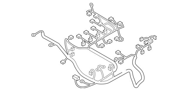 2012-2015 Mazda MX-5 Miata Wiring Harness NH46-67-070A
