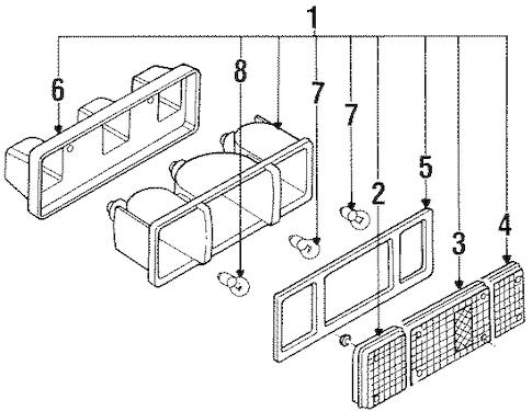1987 Nissan D21 Wiring Diagram
