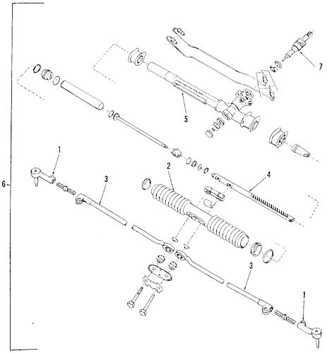 OEM 1994 Pontiac Sunbird P/S Pump & Hoses Parts