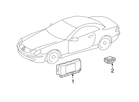 Electrical Components for 2004 Mercedes-Benz E 55 AMG
