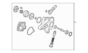 Discount Genuine OEM 2012-2015 Honda Pump Sub-Assembly