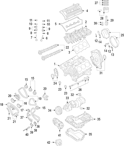 Engine for 2010 Audi A6