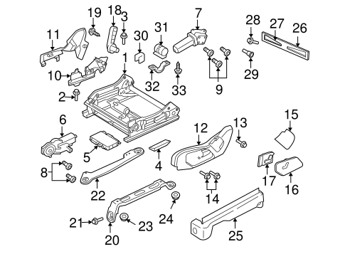 Tracks & Components for 2006 Jeep Grand Cherokee Parts