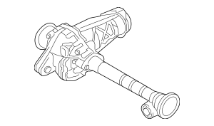 2014-2015 Audi Q7 Differential Assembly 0C1-409-506-B