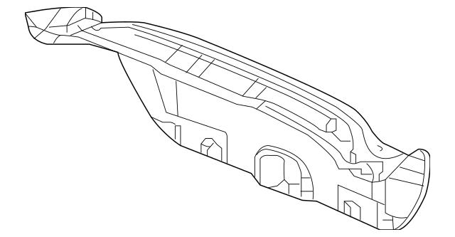 Genuine 2012 Honda CIVIC HYBRID SEDAN Lining, Trunk Lid