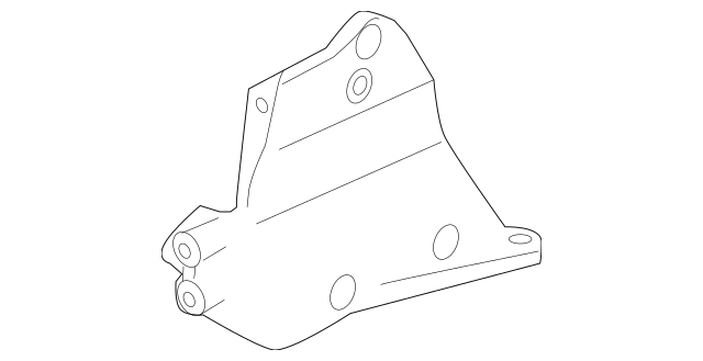 2005-2009 Subaru Front Bracket for AC Pulley [ 3.6 H6 Car