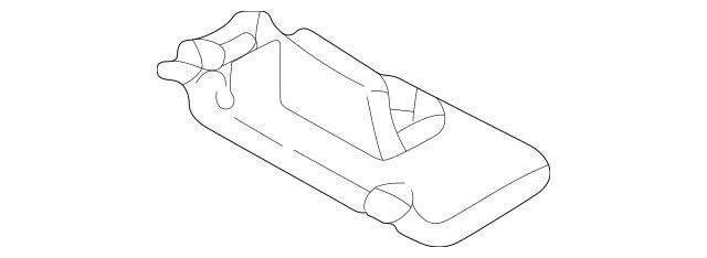 2004-2006 Acura MDX 5-DOOR Sun-Visor Assembly, L *YR204L