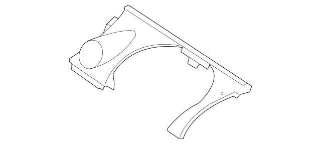 Mazda Upper Crash Pad (EG21-60-360B-02) For Sale