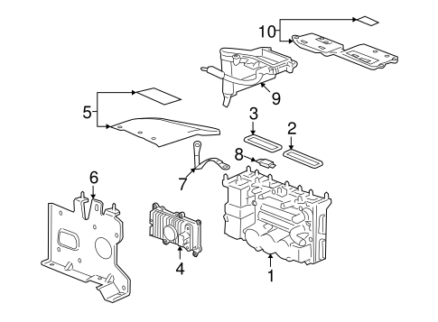 Electrical Components for 2007 Saturn Aura (Green Line
