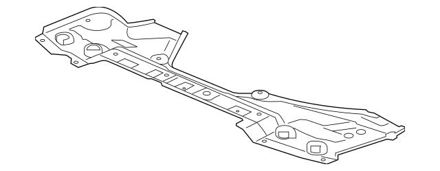 2014-2020 Acura MDX 5-DOOR Shield, Front Splash 74111-TZ5