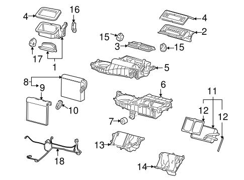 Evaporator & Heater Components for 2012 Chevrolet Impala