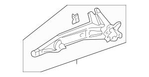 1996-2001 Acura Arm, R Rear Trailing (Disk) 52370-ST7-G91