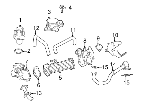 Emission Components for 2013 Mercedes-Benz Sprinter 2500
