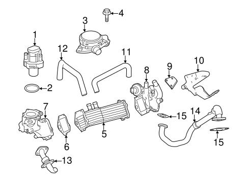 Emission Components for 2011 Mercedes-Benz Sprinter 2500