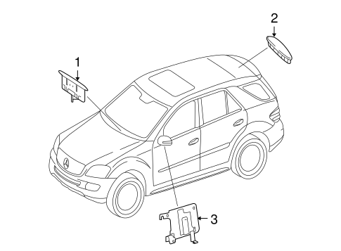 Electrical Components for 2006 Mercedes-Benz ML 350