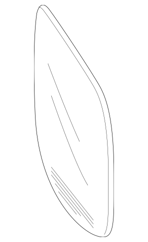 2016-2020 Honda Mirror Set, R (R1016) 76204-TG7-A01